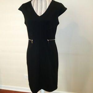 New York & Company Black Sheath Dress
